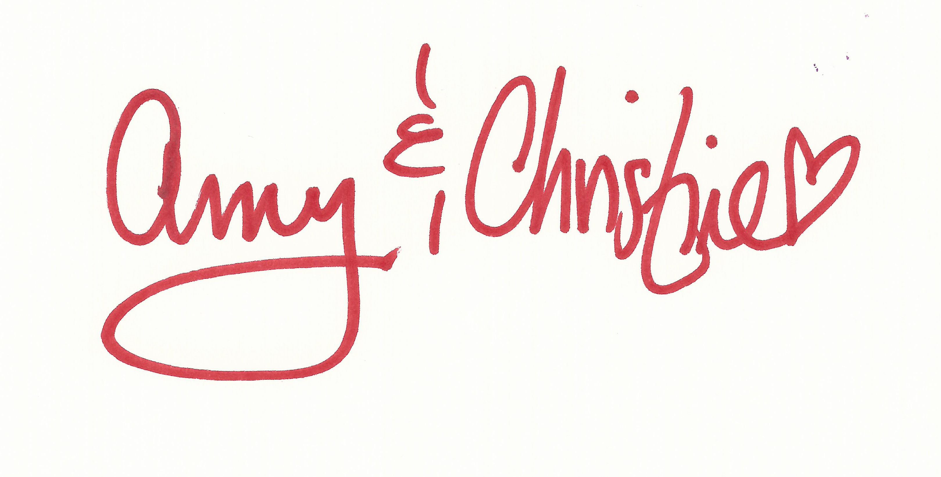 Your Signature Can Save A Life Amy And C Signature